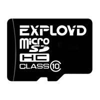Карта памяти MicroSD 8GB Exployd (no-adapter) Class10